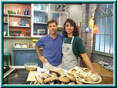 Chef Joey and Emily on Bay Cafe